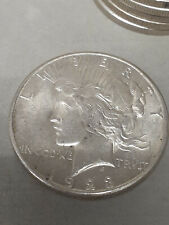 1923-S $1 Peace Dollar BU Uncertified FROM ORIGINAL ROLL GREAT LUSTER GREAT BUY