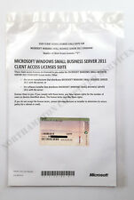 MS Windows Small Business Server 2011 DELL 5 User CAL Standard SBS - 0JX7F6