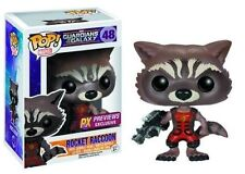 Funko Pop Rocket Racoon Variant Color The Guardians of Galaxy Vinyl Figures 1
