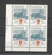 CANADA 1984 ROMAN CATHOLIC CHURCH BLOCK OF FOUR SG,1125 UM/M NH LOT 2327A