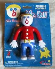 BENDABLE MR. BILL DOLL - SEALED - SNL TV CHARACTER TOY FIGURE 2006