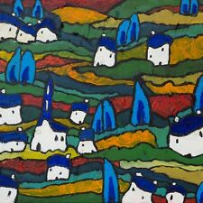 Expressionism Landscape Giclee Print 170mmx170mm Giclee Print on Quality paper