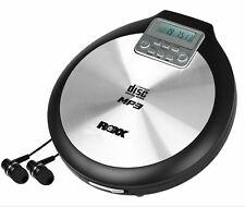 Discman tragbarer MP3 CD-Player mti Anti-Schock ROXX PCD 600 inklusive Netzteil