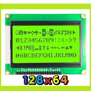m Modulo display lcd grafico per arduino raspberry 128x64 retroilluminato verde
