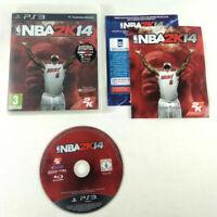 Jeu Playstation 3 PS3 VF  NBA 2K14  avec notice  Envoi rapide et suivi