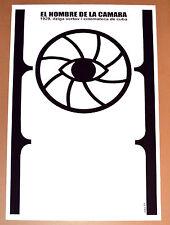 "24""x36""Cuban movie Poster for film""Man with a Camera""Dziga Vertov art film.Eye."