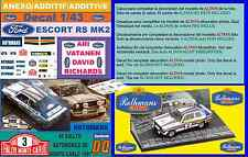 ANEXO DECAL 1/43 FORD ESCORT RS 1800 MK II ROTHMANS A.VATANEN R.MONTECARLO  (06)