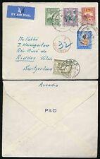 Handstamped Ceylon Stamps