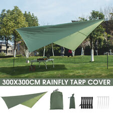 Hammock Awning Canopy Tent Tarp Beach Camping Portable Pergola Sunshade Outdoor