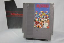 Dr. Mario Nintendo NES Free Shipping Cleaned Polished Dust Cover 1 of 2