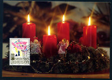 Liechtenstein 1994, Maximum card x 3, Christmas, MK.128, Mi. 1096 - 1098.