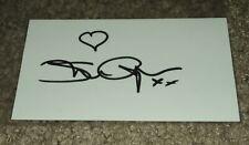 Sharon Anyos Boxing Autograph Signature