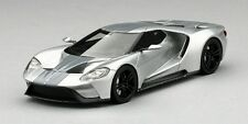 Ford Gt Ingot Silver Chicago Auto Show 2015 1:43 Model TRUE SCALE MINIATURES