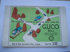 C1936 GLICO No 1 ALWAYS THE PERFECT ANTI-PINKING PETROL ADV BLOTTER