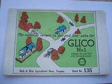 C1936 GLICO No 1 ALWAYS THE PERFECT ANTI-PINKING PETROL ADV BLOTTER