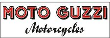 M046 MOTO GUZZI Antique Vintage Motorcycle Bike garage banner