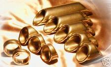 "Peaceland Guitar Ring Slide®, Size 6.5, .75"" Brass"