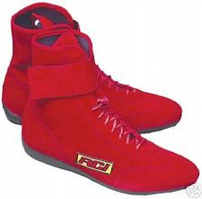NEW RCI DRIVING BOOTS,RACING SHOES, RED, SIZE 8, R.C.I.