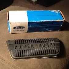NOS 1965 1966 1967 FORD MUSTANG POWER BRAKE PEDAL PAD FOR AUTOMATIC TRANS