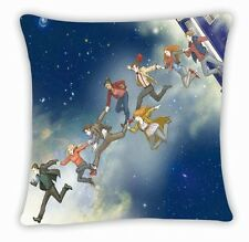 Dr Doctor Who Tardis 11 Doctor Throw Pillow Cushion Cases Cover Bed NO.12