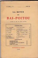 LA REVUE DU BAS POITOU   67 - 2   AVRIL 1956