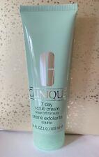 Clinique 7 Day Scrub Cream Rinse Off Formula Full Size New NWOB $22.50 Retail