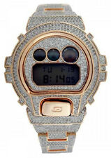 Casio G Shock DW6900 Icedout with Real white CZ