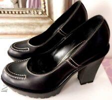 Superbes Chaussures Neuves Cuir YVES SAINT LAURENT 380E Shoes scarpa tasche P37