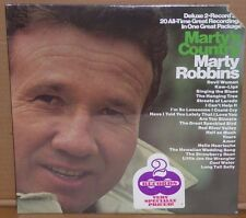 Marty Robbins Marty's Country 2 LP vinyl record NEW SEALED cut out 20 songs