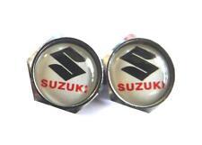Wheel Tyre Valve Caps for: SUZUKI GSXR GSX GS GSR SV INAZUMA DR RM 250 600 1000