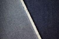 "Indigo Denim Fabric Upholstery Cotton 10 Oz Blue Ring Spun Twill 68""WBy The Yd"