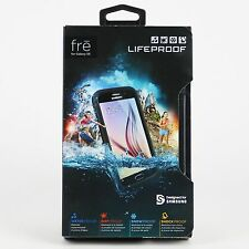 New Lifeproof Waterproof FRE Case For Samsung Galaxy S6 Black