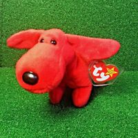 1996 Rover The Dog TY Beanie Baby Retired First Generation PVC Plush Toy MWMT