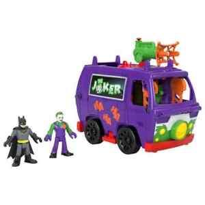Imaginext DC Super Friends: Joker Van Headquarters with Batman and Joker Figures