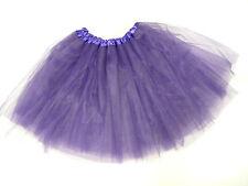 TUTU PURPLE LADIES HALLOWEEN HEN PARTY NET FANCY DRESS 80'S UP TO SIZE 18