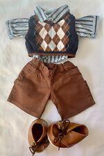 Build-A-Bear Boy's Shirt, Tank Top, Jeans & Shoes **EXCELLENT CONDITION**