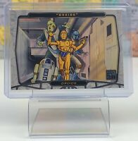 SHIPS SAME DAY 2007 Topps Star Wars 30th Anniversary #103 Droids Card Foil