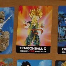 DRAGON BALL Z DBZ HERO COLLECTION PART 2 CARD CARTE 178 MADE IN JAPAN NM