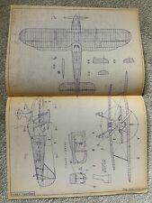 More details for fairey fantome - general arrangement aircraft plans