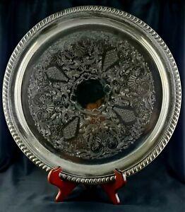 Oneida Silver Plate Maybrook 36cm Gallery Tray Serving Platter