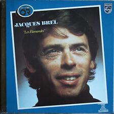 "JACQUES BREL  ""LES FLAMANDES""  ALBUM OR   33T  LP"