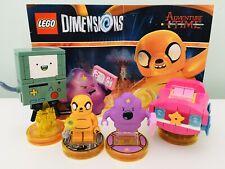 Dimensiones de Lego equipo de Tiempo de Aventura Pack 71246 Completa