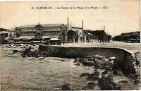 CPA Marseille-Le Casino de la Plage et le Prado (189082)