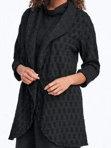 FLAX  Designs  Jacket      3G      NWT  Social Wrap