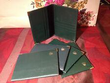 ROLEX Leather Passport Wallet 68.08.34
