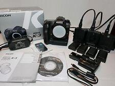 Pentax K-3 Digital Camera w/ Battery Grip, 5 Batteries, 3 Chargers & AC Adapter