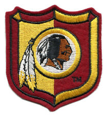 "WASHINGTON REDSKINS NFL FOOTBALL 3.25"" SHIELD LOGO TEAM PATCH"