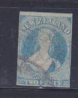 New Zealand, QV 2d pale blue SG 9, used, Lot 7140