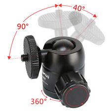 """360° Swivel Plastic Mini Ball Head 1/4"""" Screw Mount Bracket Holder For Cameras"""