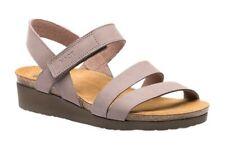 Naot 162052 Womens Harper Sandal Metatarsal Footbed Stone Nubuck Size 10 US/ 41